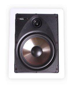 Arandela Loud 6'' Retangular LR6 BT PAS 50W 2Vias Branca Par
