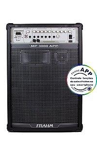 Caixa de Som Amplificada Multiuso Frahm MP 3000 APP