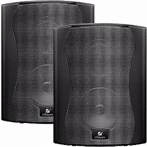 Caixa de Som Acústica Frahm Ps 6 Plus 120W Rms Preta Par