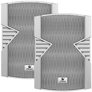Caixa de Som Acústica Frahm PS 5S 80W Rms Branca Par