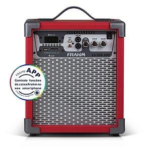 Caixa de Som Amplificada Multiuso Frahm LC 250 APP Vermelha - Bluetooth USB SD FM - 60W Rms