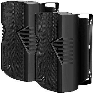 Caixa de Som Acústica Frahm PS 8S 140W Rms Preta Par