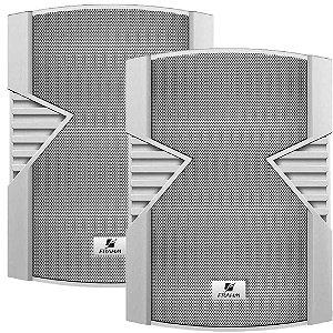 Caixa de Som Acústica Frahm PS 6S 100W Rms Branca Par