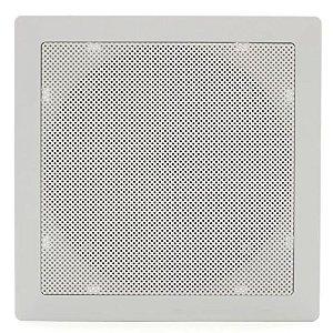 Arandela Fiamon Quadrada 6'' Coaxial 50W Rms Branca
