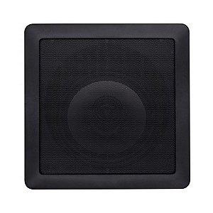 Arandela Loud 6'' Quadrada SL6 100W 2 Vias Preta
