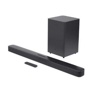 "Soundbar JBL Bar 2.1 Deep Bass Surround com subwoofer sem fio 6,5"", Dolby Digital, Bluetooth, HDMI"