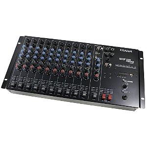 Mesa de Som Mixer Frahm MXF 12 USB - 12 Canais