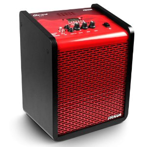 Caixa de Som Amplificada Multiuso Frahm Chroma CR400 APP Bluetooth Red