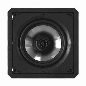Arandela Loud 6'' Quadrada SQ6 60W BL 2 Vias Branca