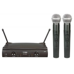 Microfone Sem Fio Tag Sound Tagima Duplo UHF TM559B S/Case