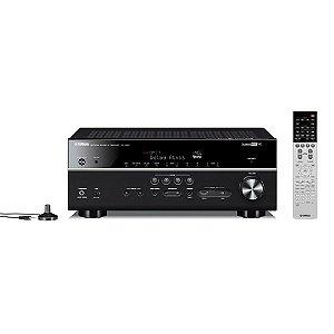 Receiver Yamaha RX-V683 BL 7.2 4K 3D Wi-Fi Bluetooth HDR Bivolt