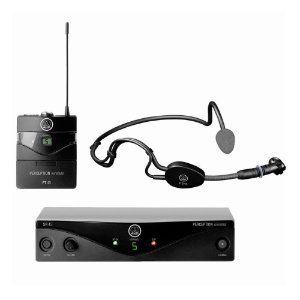 Microfone Sem Fio AKG PW SSET A 45 Sport Headset Perception Wireless