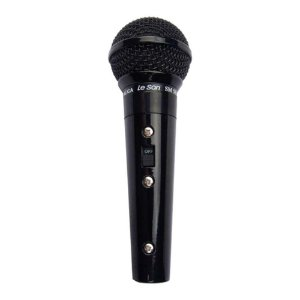 Microfone Leson SM58B Preto Metálico
