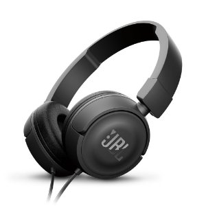 Fone De Ouvido JBL T450 Com Fio On Ear Pure Bass Preto
