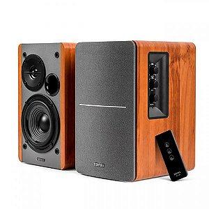 Caixa de Som Edifier R1280T Monitor de Áudio 2.0ch 42W Rms Bivolt Par - Prata