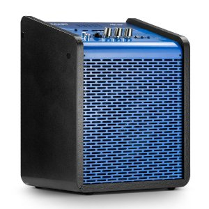 Caixa de Som Amplificada Multiuso Frahm Chroma Battery BT USB FM Azul