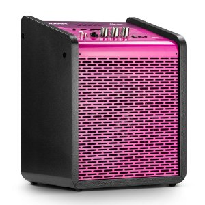 Caixa de Som Amplificada Multiuso Frahm Chroma Battery BT USB FM Pink