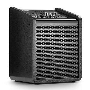 Caixa de Som Amplificada Multiuso Frahm Chroma Battery BT USB FM Preta