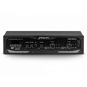Amplificador Frahm Profissional GR 3800 APP Bluetooth USB SD FM