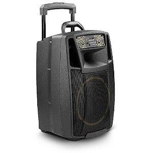 Caixa de Som Amplificada Multiuso Frahm CF 400 APP Bluetooth USB FM