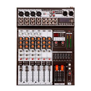 Mesa de Som Mixer Soundcraft SX 802 FX USB - 8 Canais