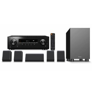 Kit Home Theater 5.1 Pioneer HTP-076 DolbyAtmos DTS:X HDR10 HLG 4K Bluetooth ZonaB 110V