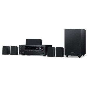 Kit Home Theater 5.1 Onkyo HT-S3910 Dolby Atmos DTS:X 4K HDR Bluetooth 110v