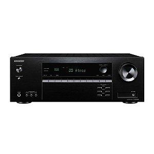 Receiver Onkyo TX-SR494 7.2ch 4K Bluetooth Dolby Atmos Hi-Res 110v