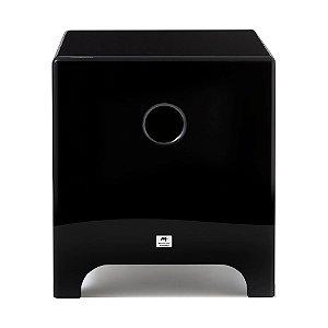"Subwoofer Ativo AAT Cube Modern 8"" 200W Rms Preto"