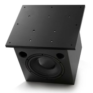 "Subwoofer Ativo AAT Cube Invisible 10"" 250W Rms Preto"