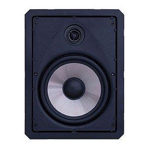 """Arandela Loud 6"""" Retangular LR6 50w Passiva 2 Vias Branca"""