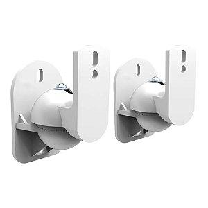 Suporte de Parede Para Caixas Acústicas ELG CX01W Branco Par