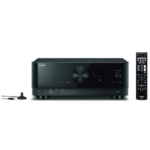 Receiver Yamaha RX-V4A 5.2ch Wifi MusicCast DTS-HD Cinema DSP 8K 80W - 110V