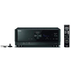 Receiver Yamaha RX-V6A 7.2ch Wifi MusicCast Dolby Atmos 8k Zona 2 Phono 100W - 110V