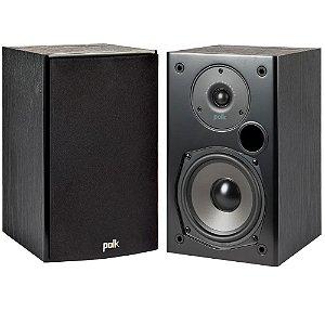 Caixa Acústica Polk Audio T15 Bookshelf 2 Vias Preta Par