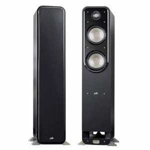 Caixa Acústica Polk Audio Signature S55 Torre Preta Par