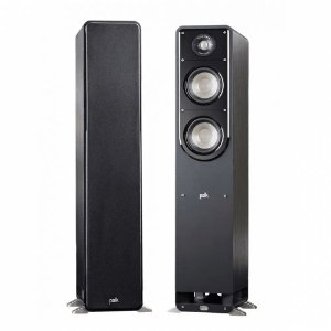 Caixa Acústica Polk Audio Signature S50 Torre Preta Par