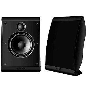 Caixa Acústica Polk Audio OWM3 Ultra Versátil Preta Par