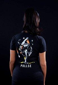 camiseta feminina Moto ost