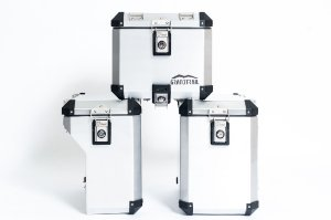 Conjunto Top Case + Side Case BMW R1200 Premium 2013+ GS1250 GS850