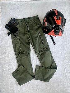 Calça Masculina de Sarja com Proteção