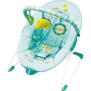 Cadeira de Descanso Vibratória Oceano Verde Água - Mastela
