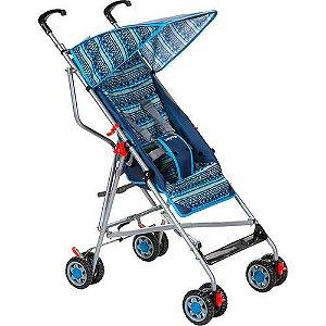 Carrinho de Bebê Passeio Voyage Umbrella Slim Azul - 2 Posições