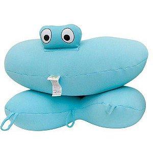 Almofada De Banho Para Bebê Azul Baby Pil