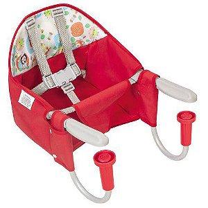 Cadeira De Refeição De Mesa Fit Vermelho - Tutti Baby
