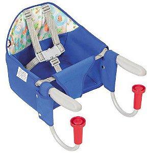 Cadeira De Refeição De Mesa Fit Azul - Tutti Baby