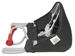 Cadeira De Refeição De Mesa Fit Preta - Tutti Baby