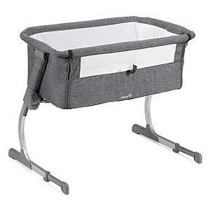 Berço Portátil Side Gray- safet