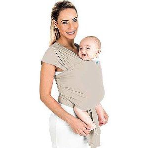 Canguru para Bebê Wrap Line Bege 3 Posições - KaBaby