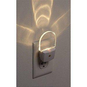 Luz Noturna Com Sensor Automático Led - 2 Peças